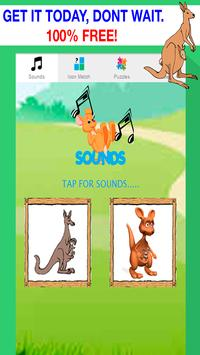 kangaroo games for kids free screenshot 3