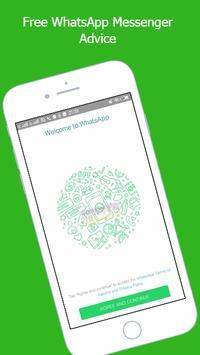 Free WhatsApp Messenger Advice poster