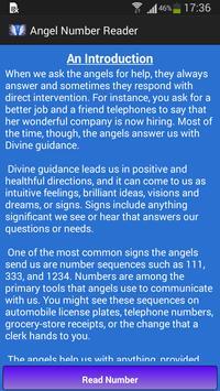 Angel Number Reader poster