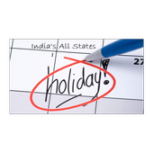 Public Holidays Calendar 2018 For Indian States icon