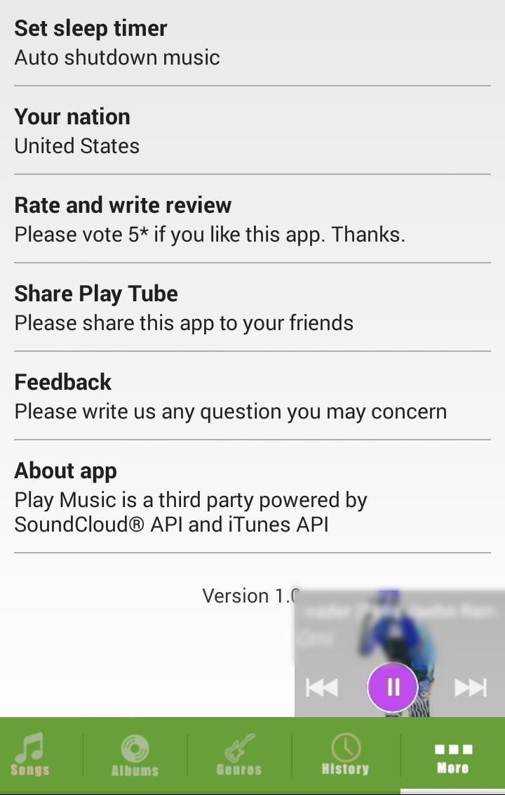 Play Music for Android - APK Download