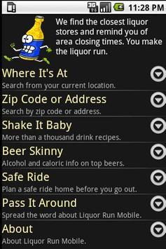 Liquor Run Mobile poster