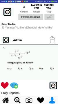 Sınavgram Eğitim Üzerine Sosyal Medya apk screenshot
