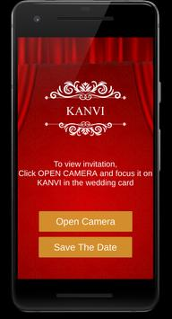 Kanvi Wedding poster