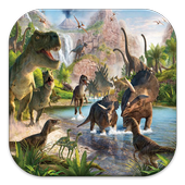 Dinosaurs FD Games icon