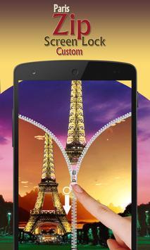 paris zip screen lock custom screenshot 9