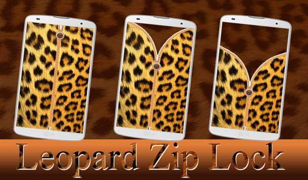 Leopard Zip Lock poster