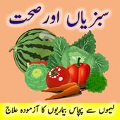 Sabziyan Aur Sehat - Vegetables benefits to health icon