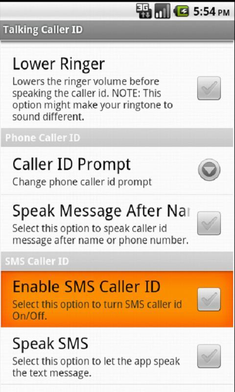 Talking Caller ID for Android - APK Download