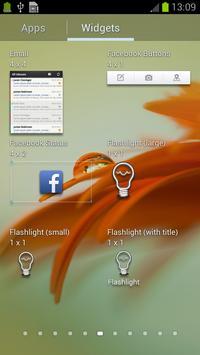 Cute Flashlight Widget apk screenshot