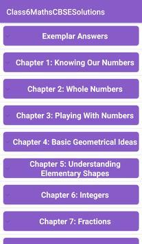 6th Maths CBSE Solutions - Class 6 poster