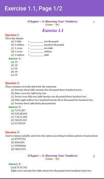 6th Maths CBSE Solutions - Class 6 screenshot 2