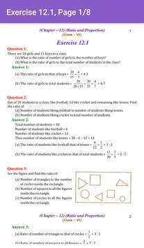 6th Maths CBSE Solutions - Class 6 screenshot 3