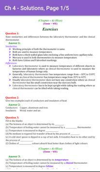 7th Science CBSE Solutions - Class 7 screenshot 3
