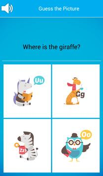 Preschool ABC Animal Zoo: Free screenshot 3