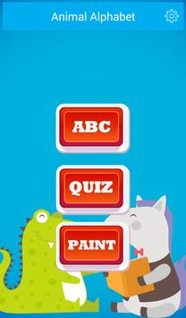 Preschool ABC Animal Zoo: Free poster