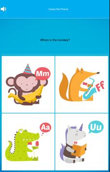 Preschool ABC Animal Zoo: Free screenshot 9