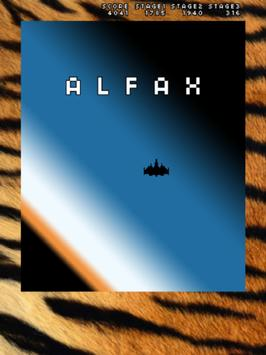 ALFAX - Free Shoot'em-up apk screenshot