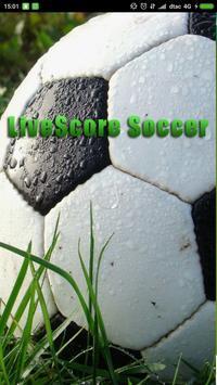 Live Score Soccer poster