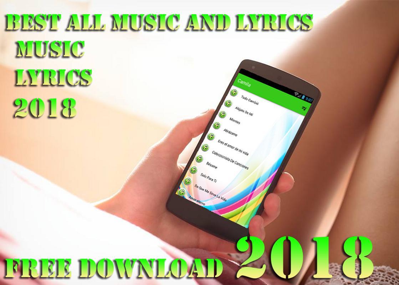 letra y musica camila de mi télécharger