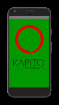 KAPITO Sprachschule poster
