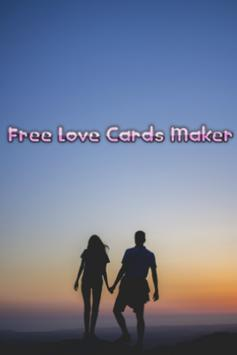 Free Love Cards Maker poster