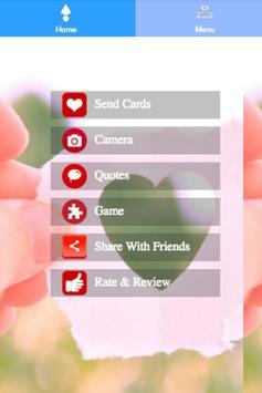 Free Love Cards Maker screenshot 2