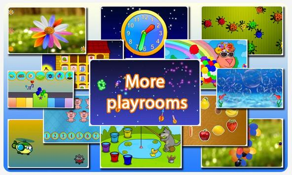 Super touch games for kids free poster