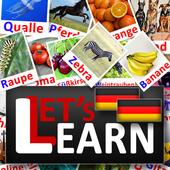 Deutsch Alphabet Lets Learn icon