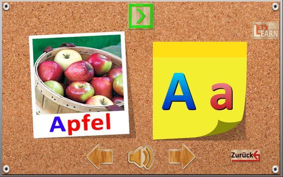 Deutsch Alphabet Lets Learn apk screenshot