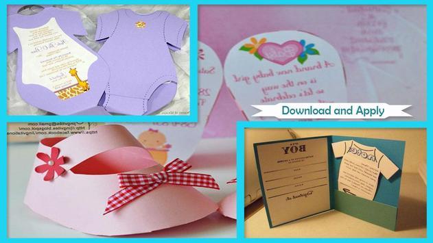 Best DIY Baby Shower Invitation Designs apk screenshot