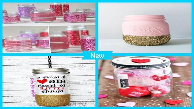 Best DIY Glitter Mason Jar For Teachers Day poster