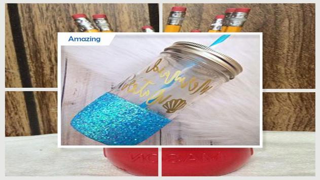 Best DIY Glitter Mason Jar For Teachers Day screenshot 4