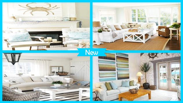 Easy Beach House Decorating Ideas poster