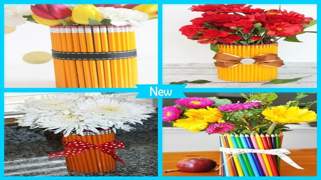 Easy DIY Pencil vase For Teacher Gift poster