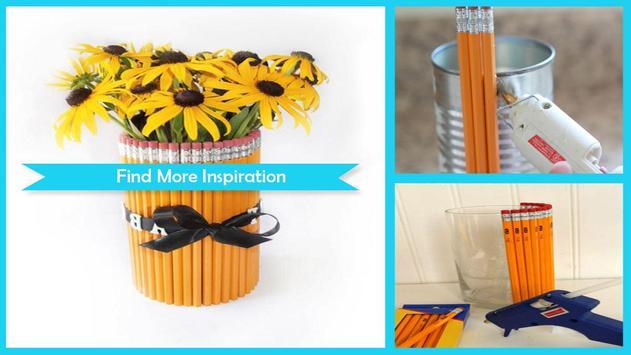 Easy DIY Pencil vase For Teacher Gift screenshot 1