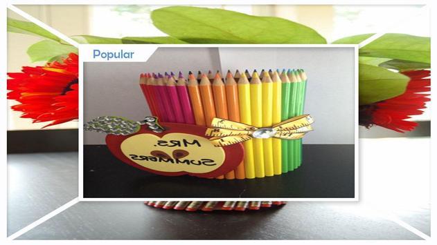 Easy DIY Pencil vase For Teacher Gift screenshot 3
