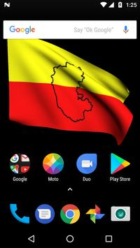 Karnataka Flag Live Wallpapers screenshot 5