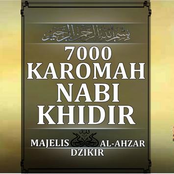 7000 KAROMAH NABI KHIDIR poster