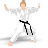 Karate Training & skills icon
