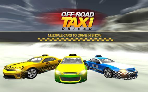 Offroad Taxi Driver 3D apk screenshot