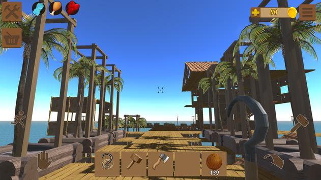 Oceanborn: Survival on Raft screenshot 1