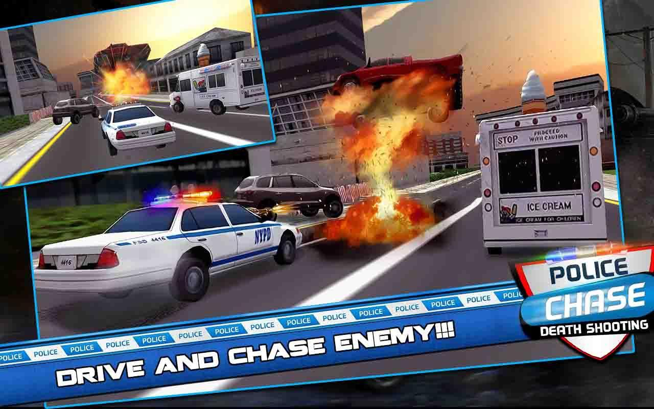 Police chase death shooting for Android - APK Download