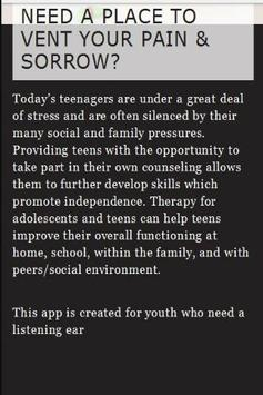 Counselling for Teens poster