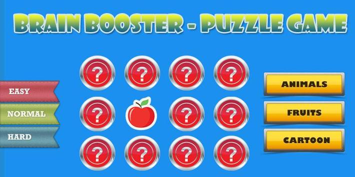 Brain Booster-Puzzle Game poster