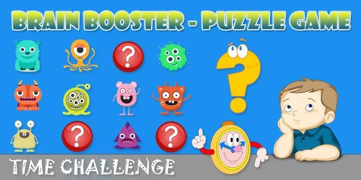 Brain Booster-Puzzle Game apk screenshot
