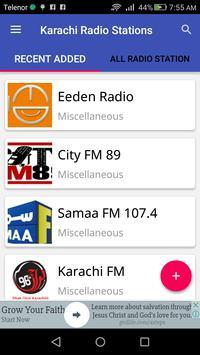 Karachi Radio Stations apk screenshot