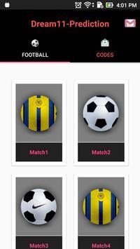 Pro tips Prediction  D11 - Football poster