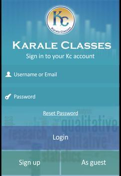 Karale Classes poster
