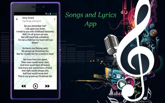 Amy Grant Songs and Lyrics screenshot 3